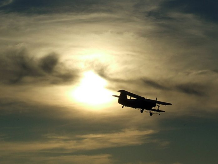In the Nizhny Novgorod region crashed and caught fire An-2 aircraft