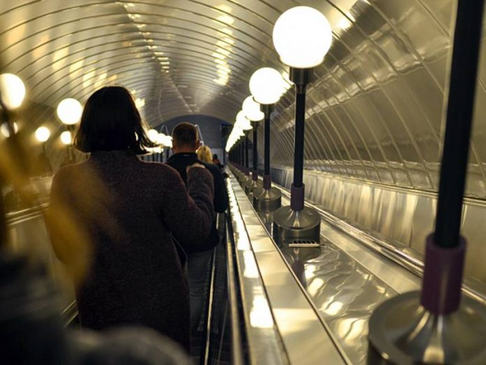 In the Petersburg underground there was an accident on the escalator