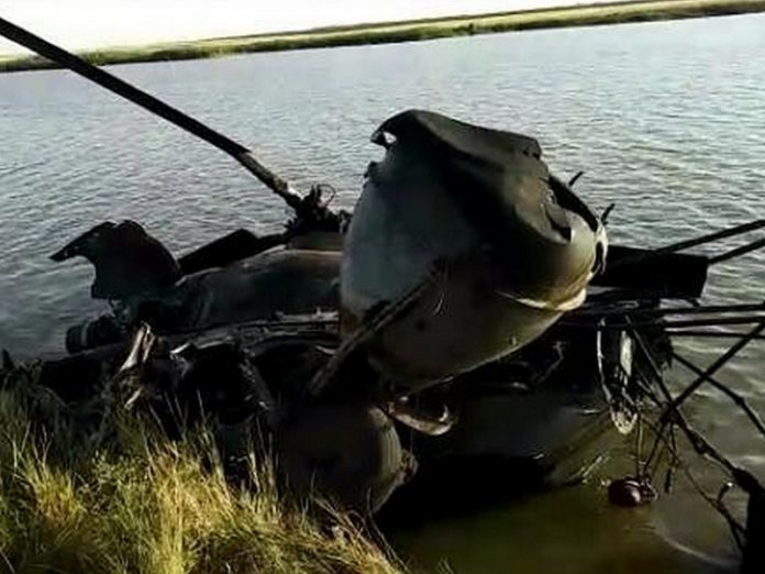 In the Rostov region in the result of helicopter crash killed a man