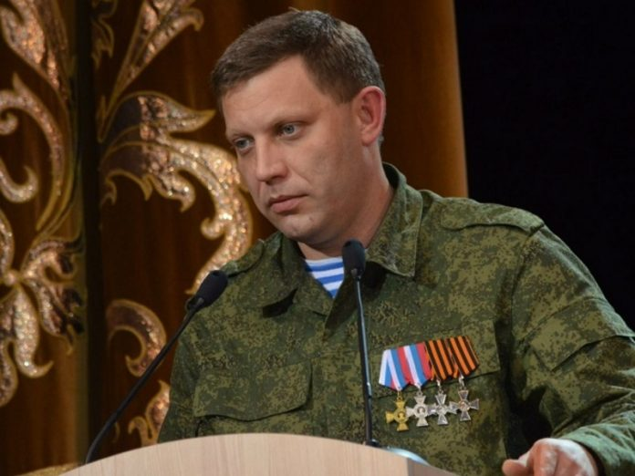 In Ukraine detained ex-the employee of SBU who were accused of the murder of the head of the DND Alexander Zakharchenko