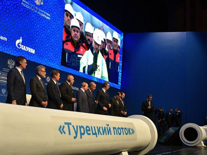 In Ukraine in the case of the launch of the second line of the Turkish stream predict a decrease of gas transit by 25%