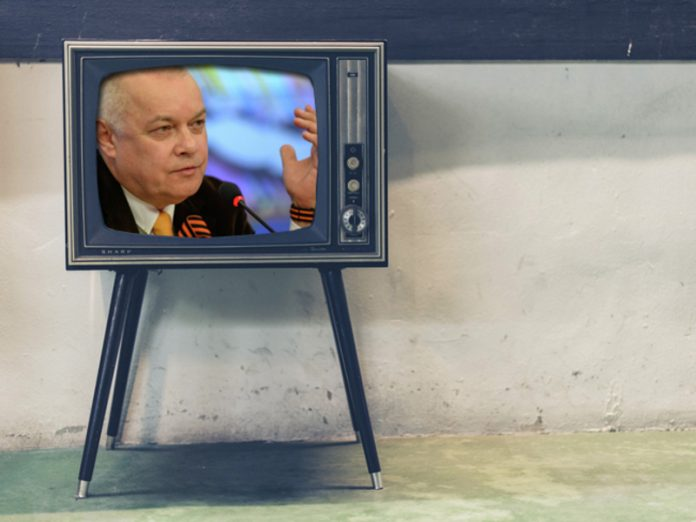 Lithuania banned the operation of TV channel RT