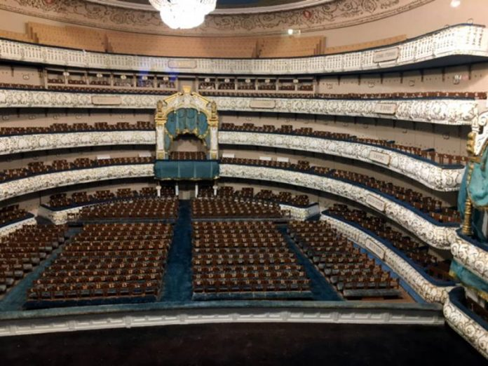 Mariinsky theatre opens the box office and the historical stage