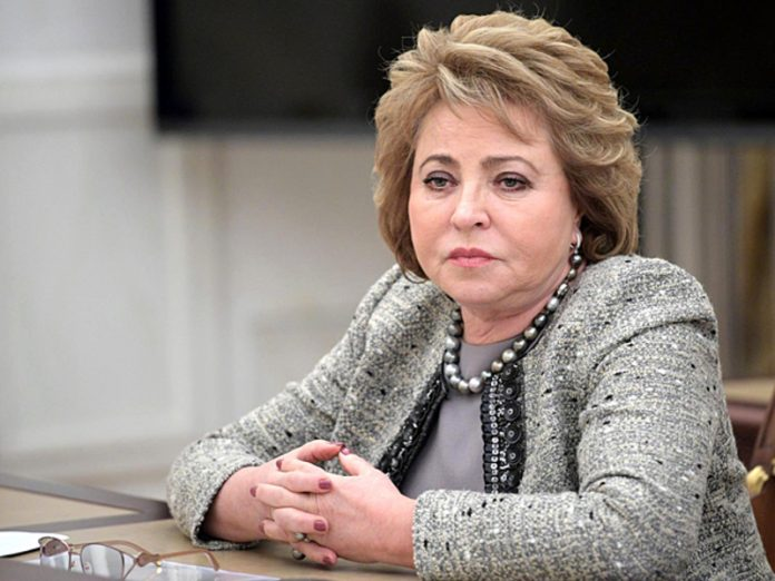 Matvienko commented on the