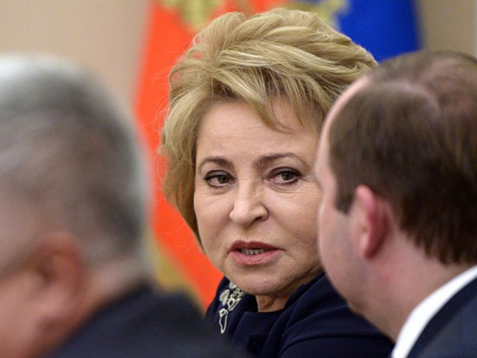 Matvienko did not agree with the idea of CEC to postpone the single day of voting