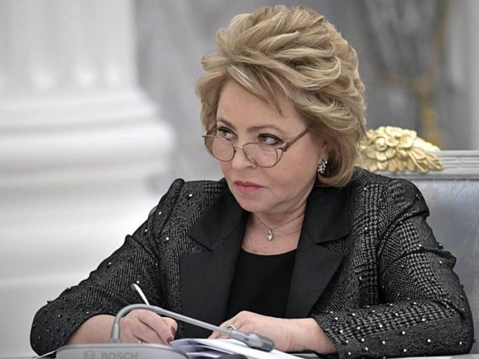 Matvienko has proposed the Prosecutor's office thoroughly investigate the activities of