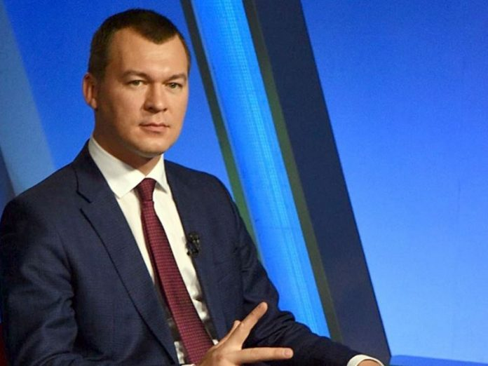 Media: On the second day after his arrival Degtyarev resigned first Deputy Chairman of Khabarovsk Krai government
