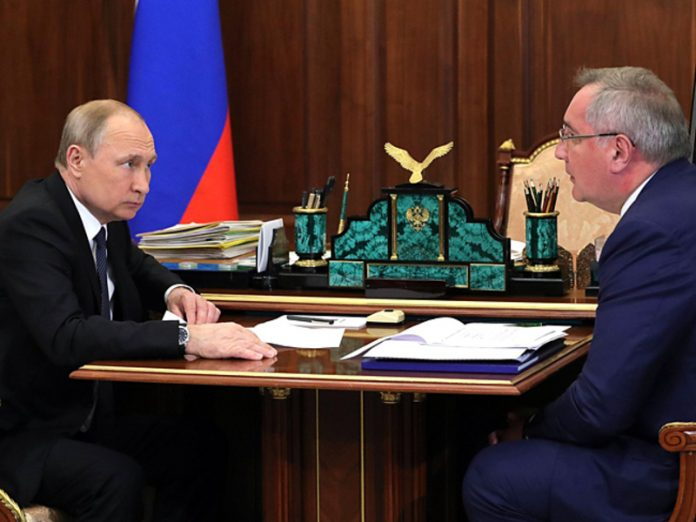 Peskov denied that Putin was going to talk with Rogozin, but canceled the meeting