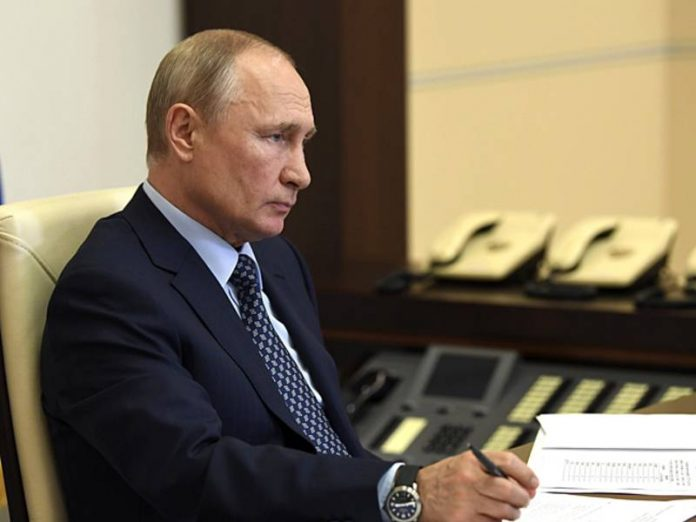 Putin ordered the military and Regardie to deal with hypothalami in Usole-Sibirskoe