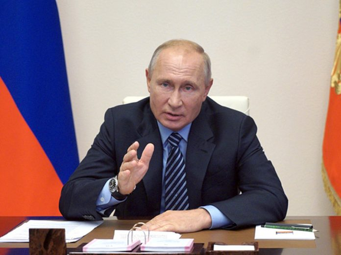 Putin said that relations with Ukraine deteriorated over the Crimea