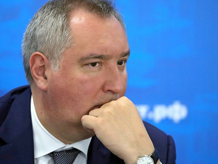 Rogozin was considered a new manned space ships of USA glamorous version of the Russian