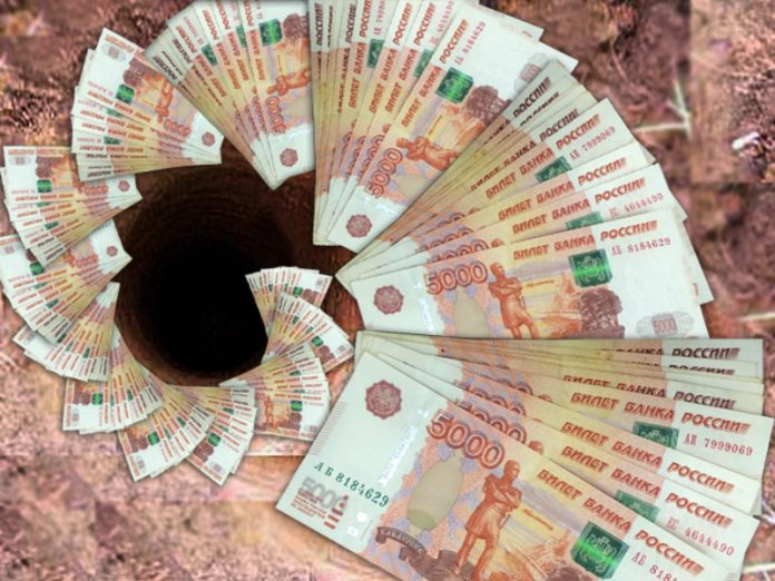 Russia has completed the six months with a budget deficit of nearly a trillion rubles