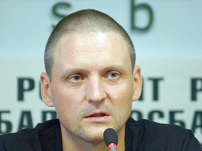 Sergei Udaltsov said on his arrest in Moscow