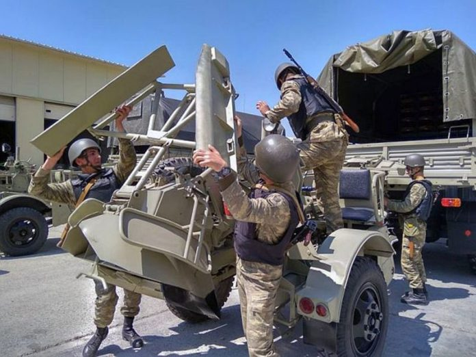 The Azerbaijani defense Ministry reported the destruction of more than one hundred Armenian servicemen