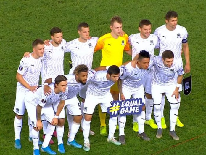 The championship of Russia on football ended with the release of FC Krasnodar in the UEFA Champions League