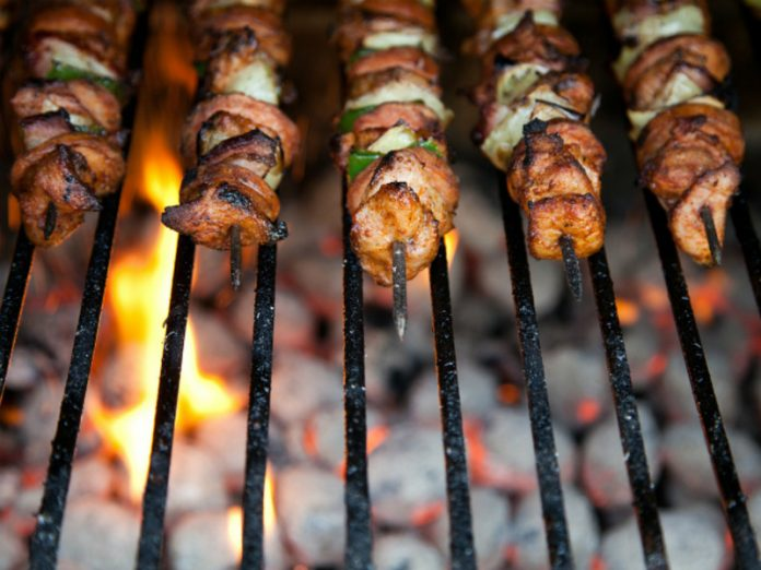 The chef told me how to choose meat for shashlik