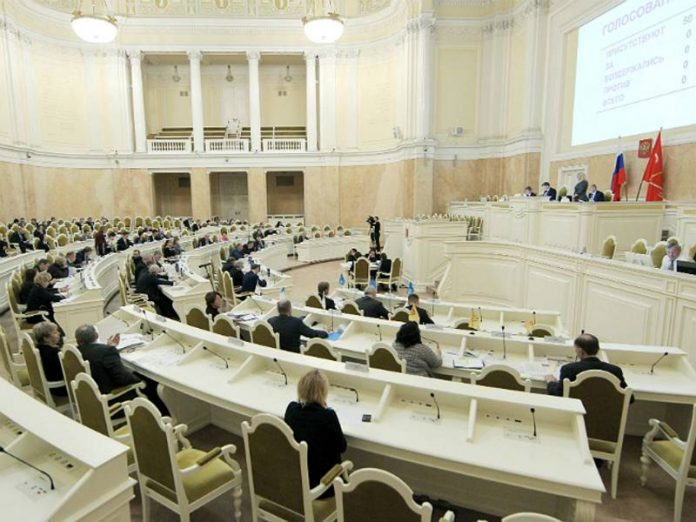 The Deputy called the shameful pages of the St. Petersburg Parliament