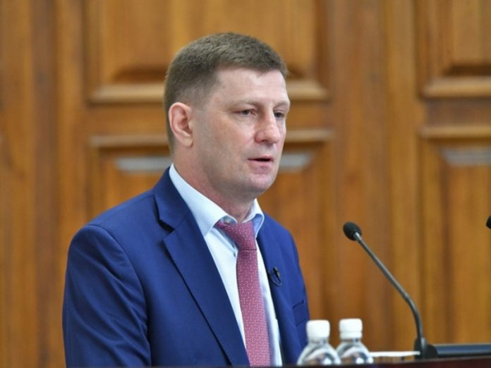 The detention of the Governor of Khabarovsk Furgala that is known at this hour
