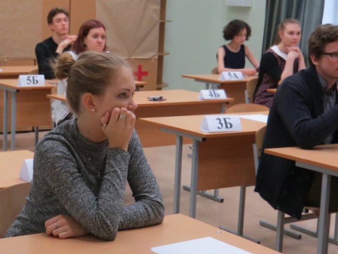 The exam on the Russian language held on 6 and 7 July