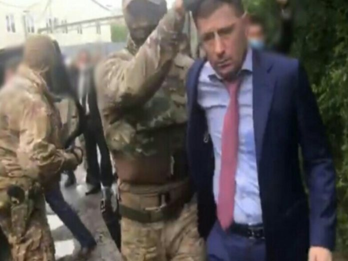 The Governor of Khabarovsk territory Sergey Furgala was detained on the murder (video)