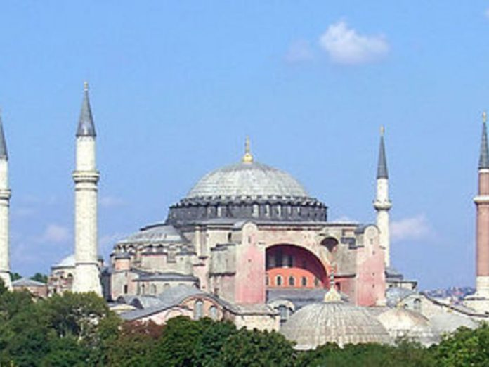 The Kremlin praised Erdogan's promises about open access to the Holy Sophia in Istanbul
