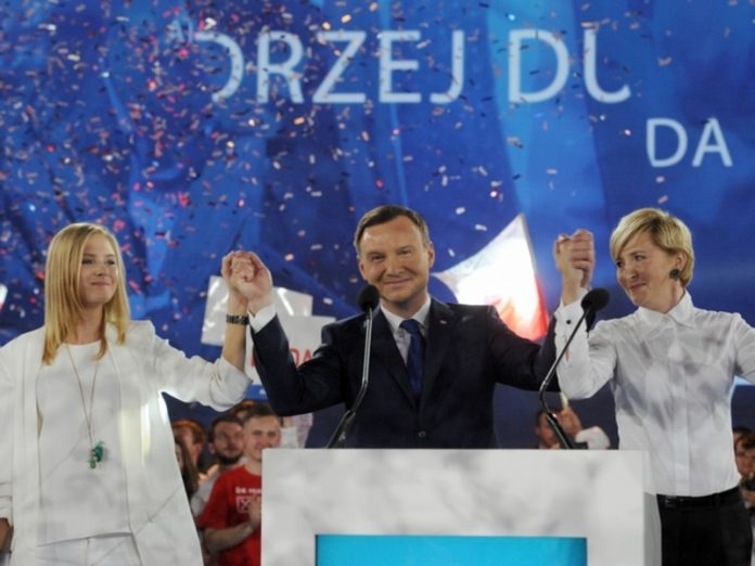 The leader of Poland