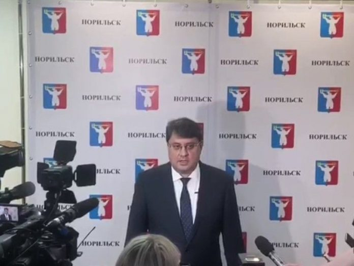 The mayor of Norilsk has resigned due to inactivity of the regional authorities