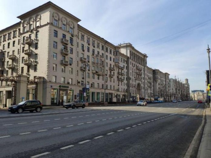 The Moscow's Department stopped the illegal repairs to the building on Tverskaya