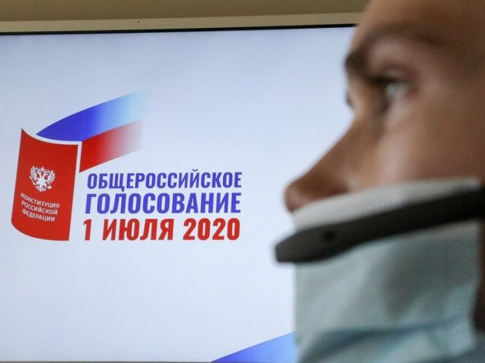 The official exit poll: More than 73% of voters in St. Petersburg have supported the amendments to the Constitution