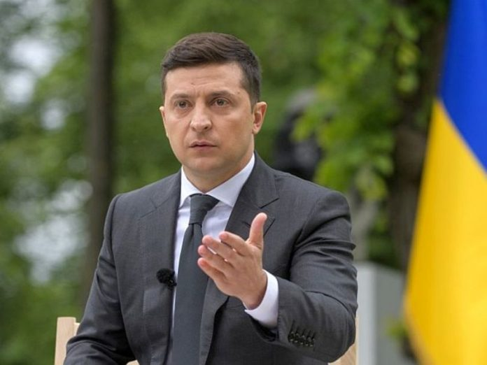 The President of Ukraine has recorded a video message at the request of the terrorist and saving the hostages