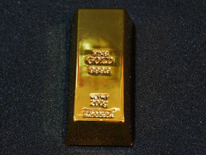 The price of gold has updated the historical record