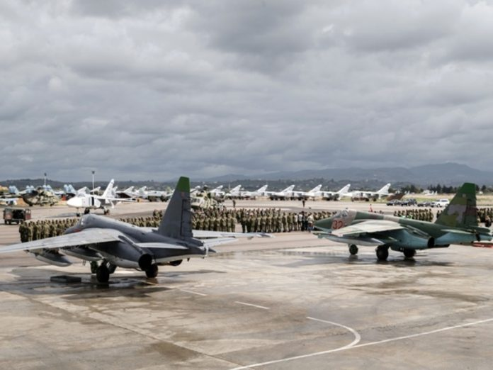 The Russian air base in Syria Hamim
