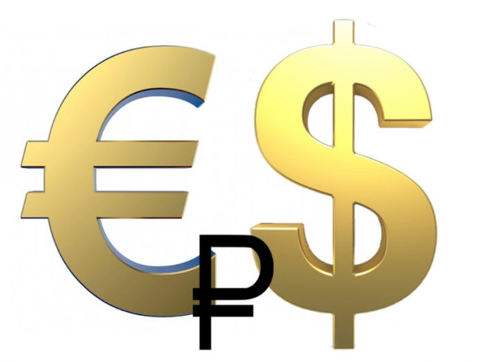 The Russian currency is losing ground, the Euro exceeded 82 of the ruble