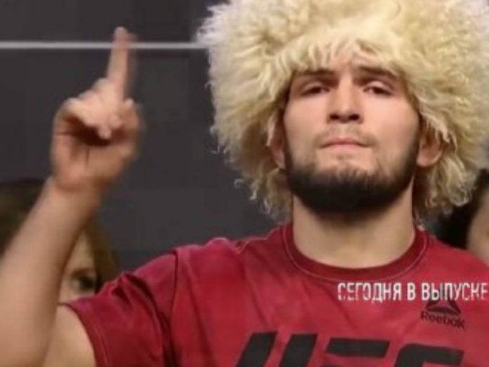 The undefeated Nurmagomedov will face Geydzhi at the end of October