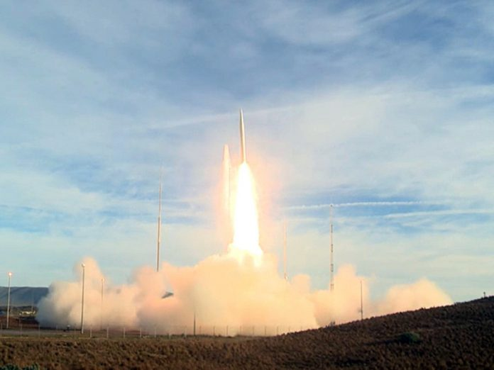 The United States received a replacement for Russian rocket engines