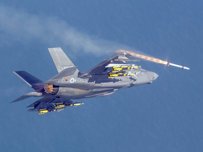The United States supported the military potential of Japan by selling her hundreds of F-35