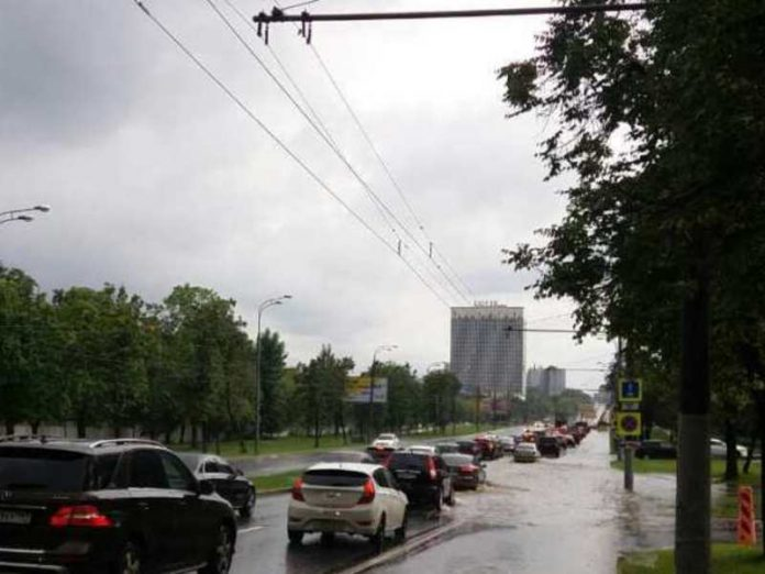 This summer in Moscow can be the wettest in history