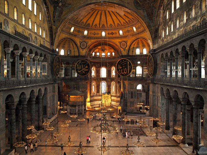 Turkey signed the Protocol on the conservation of Hagia Sophia as a world heritage site
