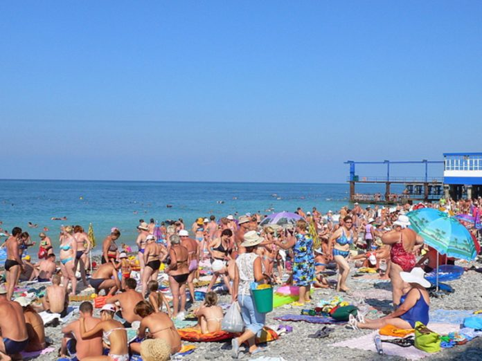 Vacationers in the resorts warned of the serious