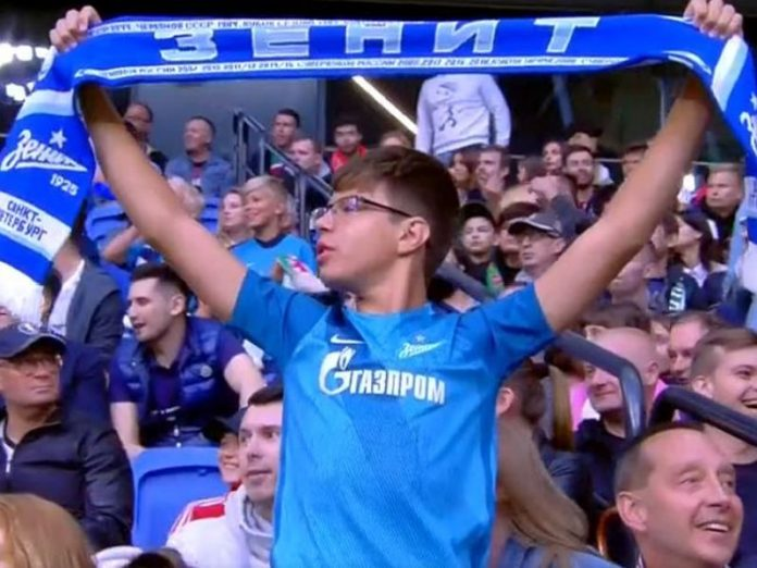 Zenit played a draw match with