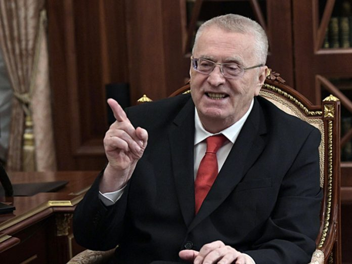 Zhirinovsky decided that replacement to the arrested Governor Furgala Putin will pick up on Monday