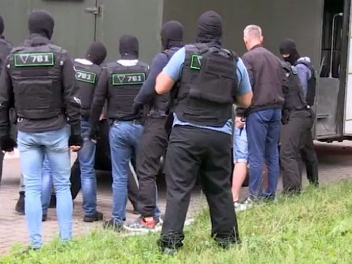 Detainees in Belarus,