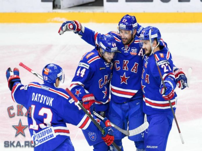Hockey players SKA have crushed