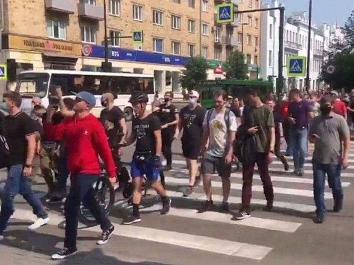 In Russian cities, ended the rally of solidarity with Khabarovsk
