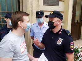 In the Belarusian Embassy in St. Petersburg gathered more than 140 people (photo)