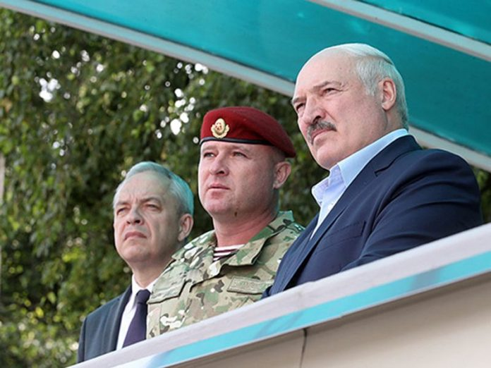 Lukashenko instructed the security forces to prevent a