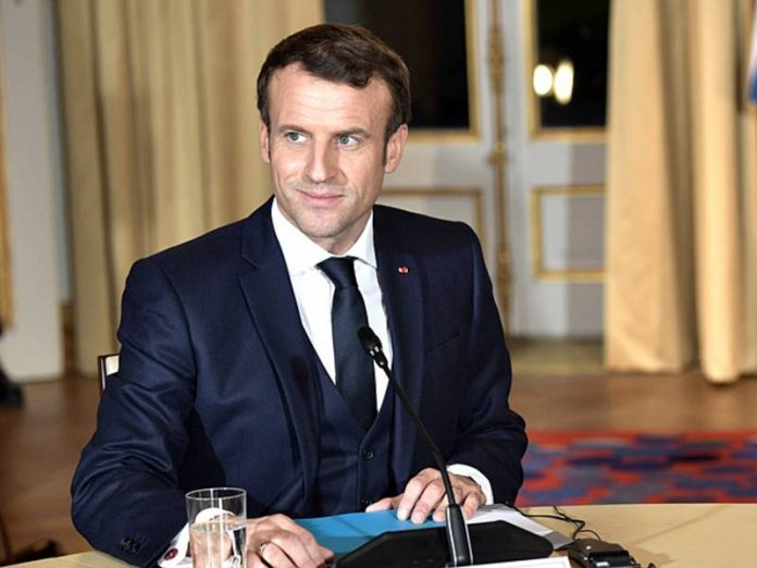 Macron spoke in support of the protests in Belarus