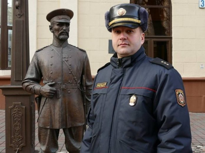 Minsk police refused to confirm reports of the use of stun grenades and water cannons