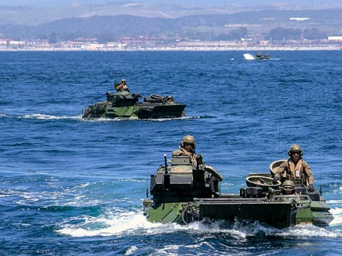 Off the coast of California was found drowned amphibious vehicle and killed the Marines