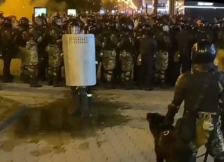 One of those detained during protests in Belarus died in the hospital